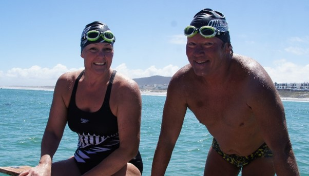 robben island swim finish