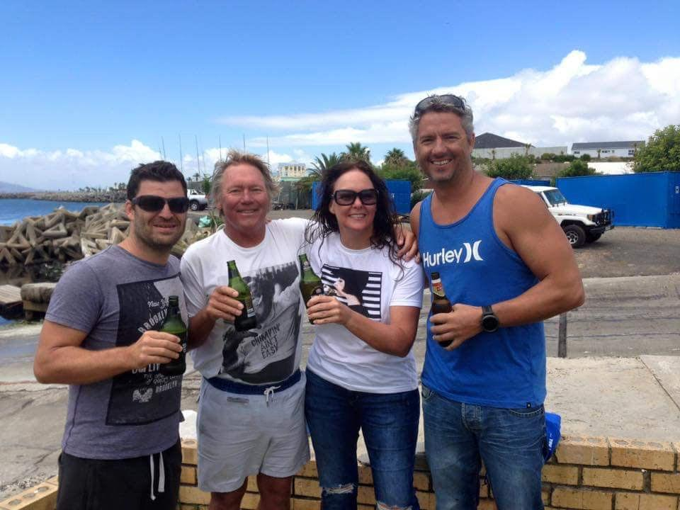 tracy clark robben island swim celebration